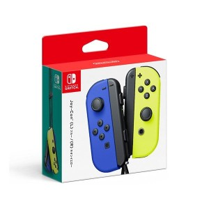 Nintendo Switch Joy-Con(L) ブルー/ (R) ネオンイエロー(Yahoo!ショッピング)