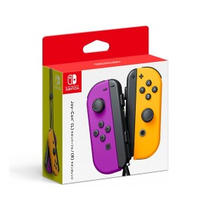 Nintendo Switch Joy-Con(L) ネオンパープル/ (R) ネオンオレンジ(Yahoo!ショッピング)