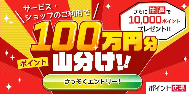 dポイント100万円分山分け!二周年キャンペーン