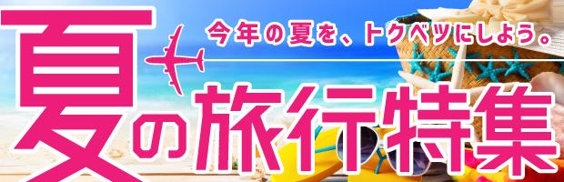 夏旅の予約におすすめ、夏の旅行特集!宿泊やその他サービス予約・利用でPontaポイントがもらえる!