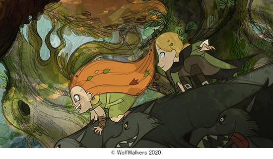 アニメーション映画「ウルフウォーカー」公開記念 監督描き下ろしイラスト入りオリジナルエコバッグを3人に