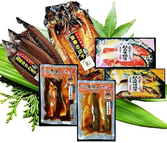 仙台漬魚「美味海鮮 三陸海のごちそうセット」を3人に