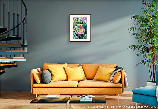 マティス「金魚」のDNP高精彩複製画プリモアートを1人に