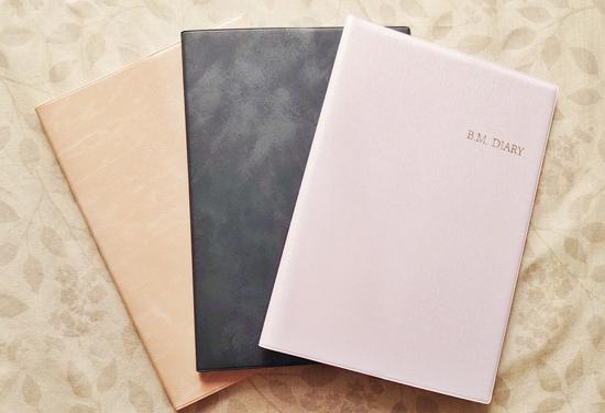Crystal Muse ALICEの手帳「B.M.DIARY」3種類を計6人に