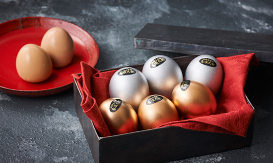 【2周年記念】烏骨鶏本舗の燻製卵「烏骨鶏ゴールデンエッグ(黄金・白銀)セット」を10人に