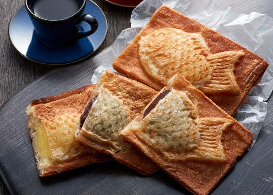 【秋の味覚】クロワッサン鯛焼き3種セットを10人に