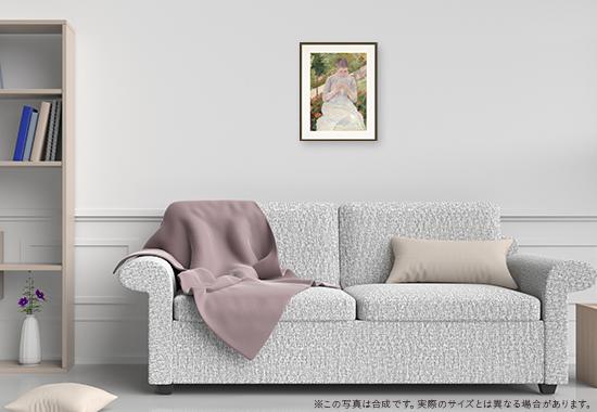 メアリー・カサット「縫物をする女性」のDNP高精彩複製画プリモアートを1人に