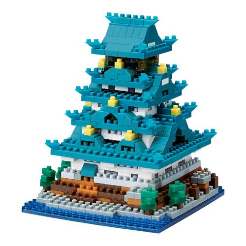 カワダの「ナノブロック 大阪城」を5人に