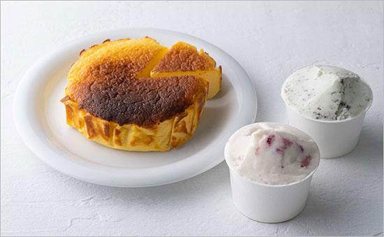 ぼのむどぅねーじゅ「手づくりチーズケーキ&ジェラートセット」を8人に