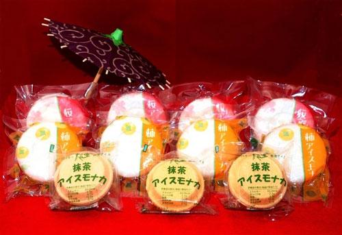 【夏だ!!ご当地アイス祭り】「≪和風≫桜・柿・抹茶アイスモナカset(11個入り)」を10人に