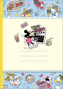 「ディズニーキャラクター ステーショナリーセット」&「ディズニーキャラクター ノート」を20人に