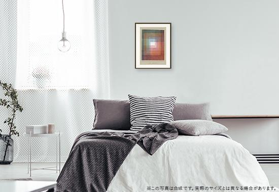 パウル・クレー「ポリフォニックにはめ込まれた白」のDNP高精彩複製画プリモアートを1人に